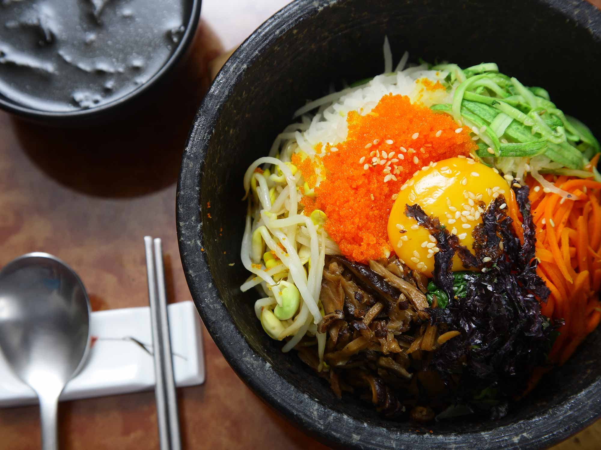 Plat traditionnel: Bibimbap