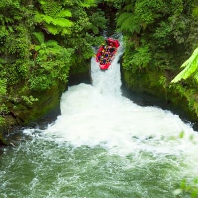 Descente en rafting à Taiwan