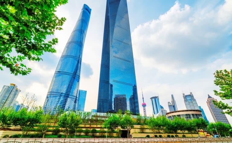 Apéritif à la Shanghai World Financial Center, Park Hyatt