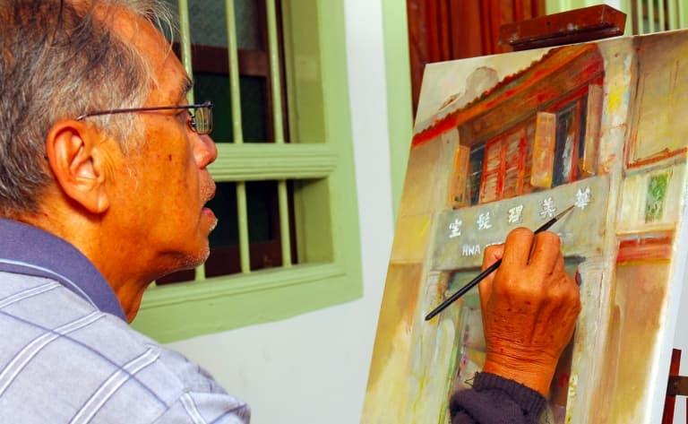 Rencontre avec un artiste Chinois