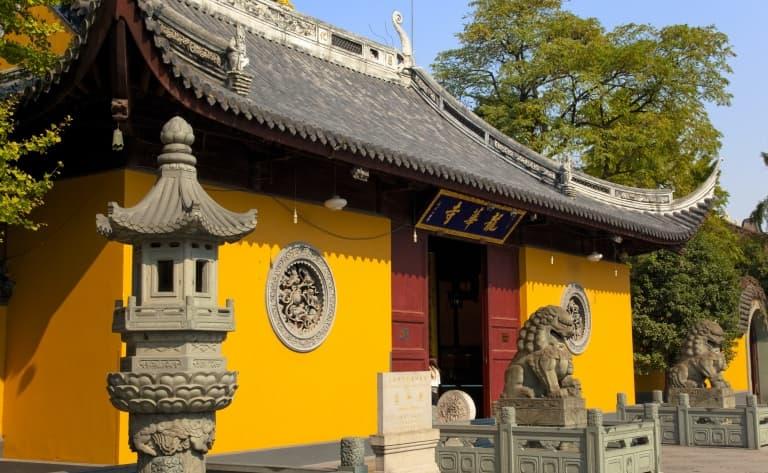 Le Temple du Buddha Jade, Le Jardin Yu et la vieille Ville