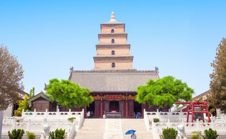 La Grande Pagode de l'oie sauvage, la calligraphie, le musée de l'histoire du Shanxii, la Mosquée et le quartier musulman