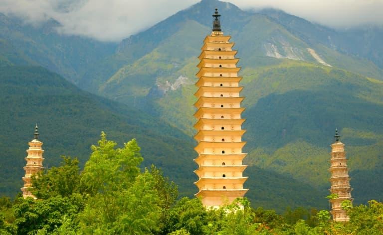 Les Trois Pagodes de Chongsheng